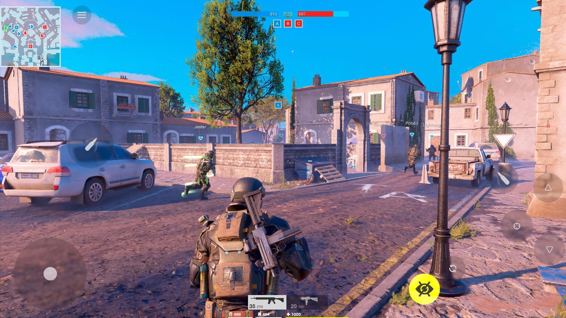 Game thủ có thể lựa chọn nhân vật trong Battle Prime